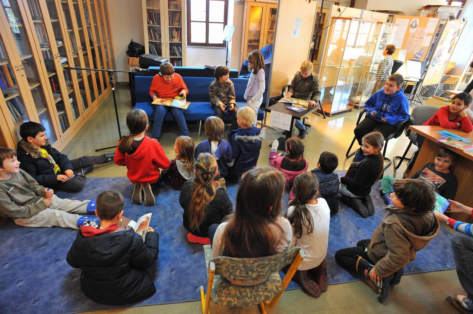 Čitanje priča na Danu darivanja knjiga