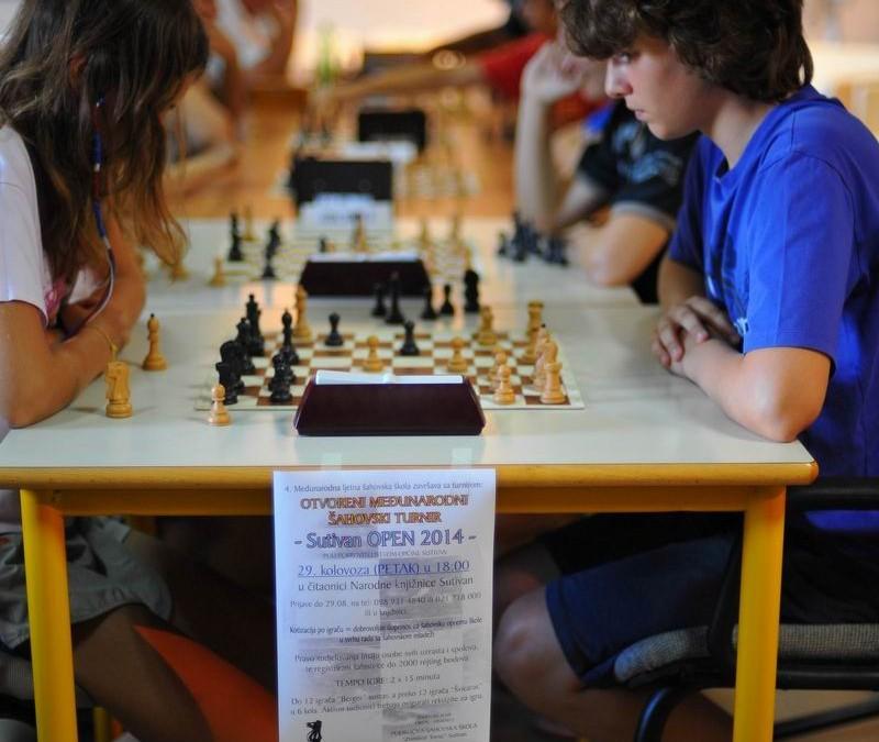 Šahovski turnir SUTIVAN OPEN 2014.