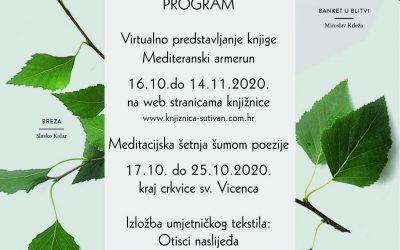 MJESEC KNJIGE 2020. – najava programa Narodne knjižnice Sutivan
