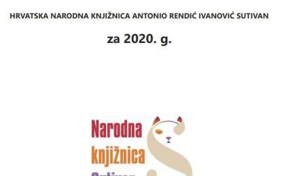 Objavljeno Izvješće o radu knjižnice za 2020.
