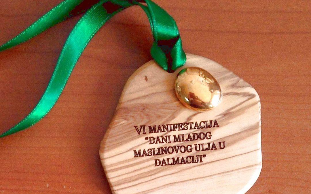 Zlatna medalja za zadružno ulje u Vodicama
