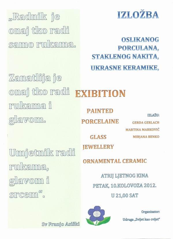 Najava izložbe