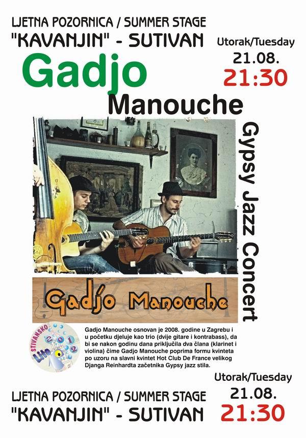 Gadjo Manouche u Stivanu