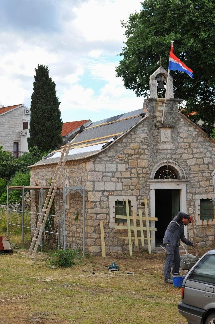 Obnova krovišta Sv. Ivana